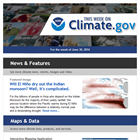 Climate.gov launches weekly e-newsletter