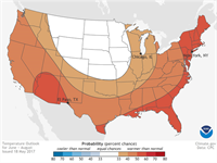 NOAA Releases Summer Climate Outlook for 2017