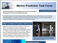 NOAA introduces Marine Prediction Task Force at 2018 Ocean Sciences Meeting