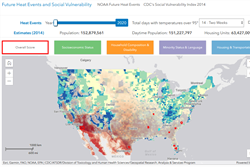 NIHHIS Heat Health Social Vulnerability Tool Demoed at American Public Health Association (APHA) Annual Meeting