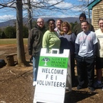 David Legler leads service project for Charlottesville school