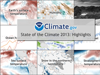 State of the Climate in 2013: Highlights
