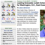 Leading Forecaster Judah Cohen Featured on Washington Post Blog