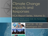 National Climate Assessment Societal Indicators Report Released