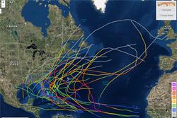 Updates to authoritative Atlantic Hurricane database