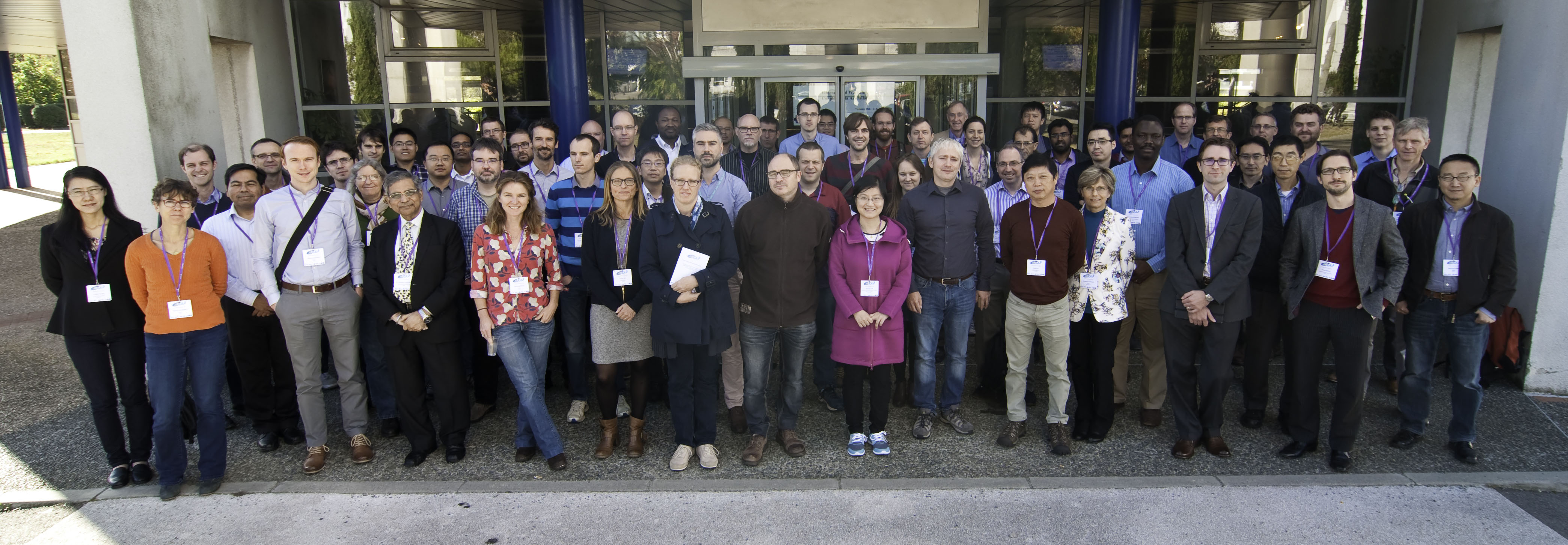 Group photo from the International Workshop on Coupled Data Assimilation at Meteo-France. Source: Meteo-France.
